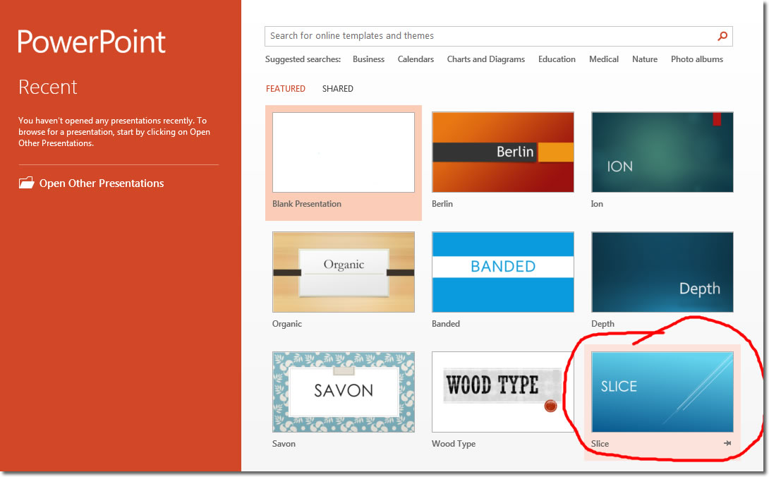 how to create powerpoint template 2013 - quickstart microsoft powerpoint 2013 tutorials